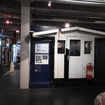 The Check Point Charlie Shed in the Allied Museum.