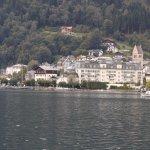Hotel Seehof from acrtoss Zellersee