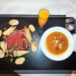 Almuerzo sano y equilibrado excelente relacion Calidad-Precio