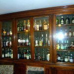 some of the many bottles to choose from