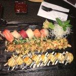 3 roll platter