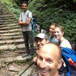 Dipesh best trekking guide, lush rainforest trek to Poon Hill