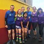 Glanageenty loopers before the race at Ballyhoura Hostel. #glanageentyloopers