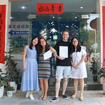 My graduation from Omeida Chinese Course