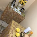 Lavita Spa is so amazing, it's calming and the staff is friendly but the massage rooms are too c