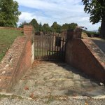Defensive works and gate