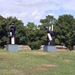 More modern sculpture