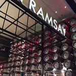 Keg Wall at Gordon Ramsay Pub & Grill Las Vegas