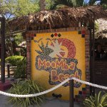 Moomba Beach Sign