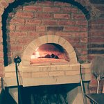 Wood fired pizza oven!