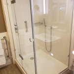Large shower in the room (107)