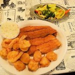catfish/shrimp/scallops