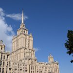 Can be seen for miles grind on the skyline along with 7 other similar buildings - Stalin's 7 sis