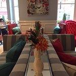 Lounge and tearoom