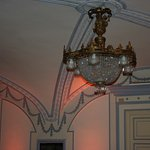 A nice chandelier from the first floor