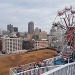City Museum - A Roda Gigante, no topo do edifício (12o andar)