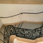 Glorious staircase to the second floor of the Galerie