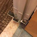 Another view from Inside the Bathroom door