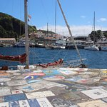 The Marina of Horta Foto