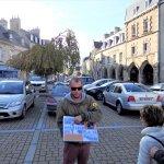 Michael shows Carentan Then & Now