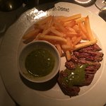 My plate of entrecote