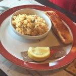 Pavé de saumon 150 gr et riz