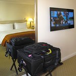 Taj Campton - Room 1202 - Full-length mirror and TV
