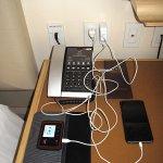 Taj Campton - Room 1202 - Devices charging on desk