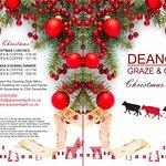 Deano's Christmas Menu 2017