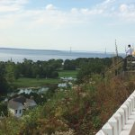 Mackinac Island fort tea rooms