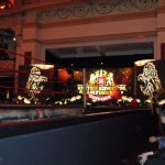 Winter Gardens set up for the WWE UK Championship