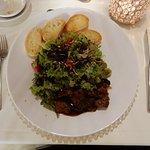 Salat mit Crostini