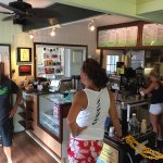 Green Flash is an awesome place to grab a quick cup of coffee or smoothie (Green Flash smoothie!