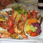 Seafood platter for two!