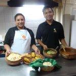 Foto van El Frijol Feliz Cooking School