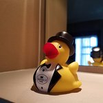 How can you not love a hotel that provides you with a rubber duckie of your very own?