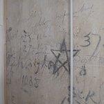 Graffiti in bathroom