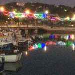 The marina at Torquay
