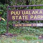 Welcome to Puu Ualakaa State Park