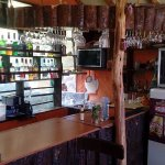 Bar del Hotel Kuntur Wassi. Espléndido!