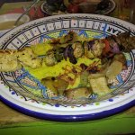 Mixed Grill with couscous