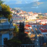 The view over the city of Lamego