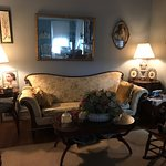 Period pieces in living room