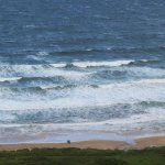 More crashing waves