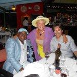 Eva with Minister of Tourism, Edmund Bartlett & Grneral Manager of Bahia Principe Resort.