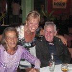 Eva with Anita Pallemberg & Steve Crotty