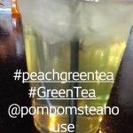 Peach Green Tea! Delish