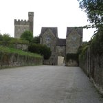 driveway into the castle