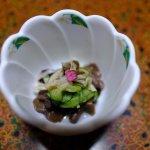 Delightful little pickled mushroom dish