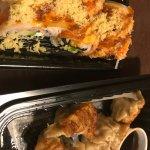Hitachi Roll and Pan fried dumplings